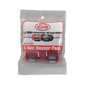 WELD-AID 007061 Lube-Matic Kleener Pads (6 Packs of 6)-ShopWeldingSupplies.com
