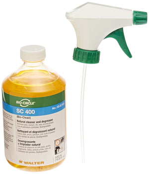 Walter 53G513 SC400 Natural Cleaner & Degreaser, 500ml Spray Bottle (Each)-ShopWeldingSupplies.com