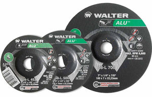 "Walter 08-L 450 ALU™ 4-1/2""x1/4""x7/8"" Cut-Off Wheel-ShopWeldingSupplies.com"