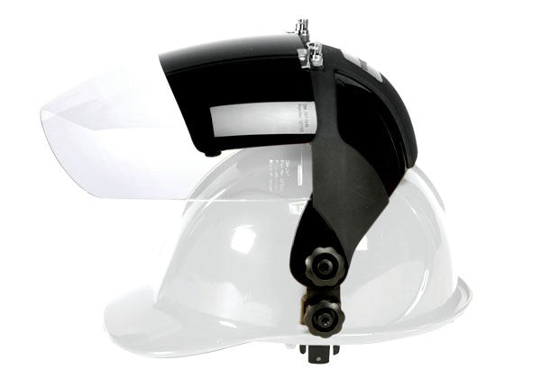 Slotted Hard Hat and Dual Face Shields (017046)-ShopWeldingSupplies.com