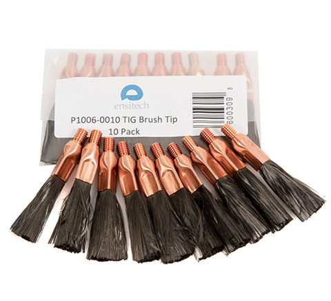 Ensitech TIG Brush Standard Torch Replacement Brushes (Pack of 10)-ShopWeldingSupplies.com