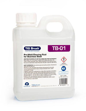Ensitech TIG Brush TB-01 Pre-Weld Cleaning Fluid (Quart and Gallon Avail)-ShopWeldingSupplies.com
