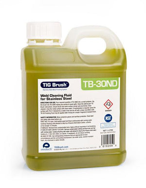 Ensitech TIG Brush Stainless Steel Weld Cleaning Fluid - TB-30ND-ShopWeldingSupplies.com