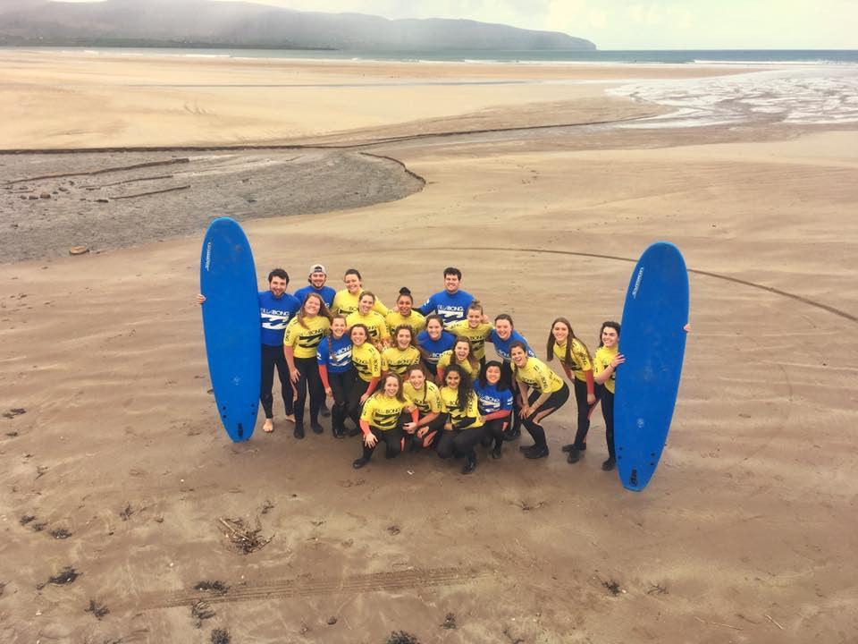 Dingle Surf School Lesson 31/3/17