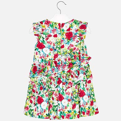 6y Mayoral floral dress 3931