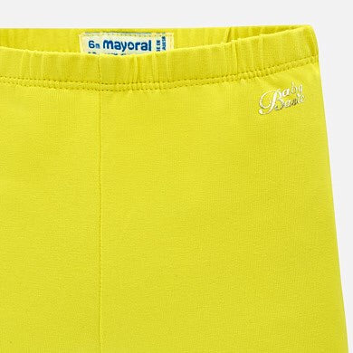 Mayoral lemon baby girl leggings 709