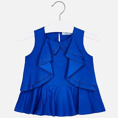 4/5/6/7/8/9y Mayoral blue blouse 3103