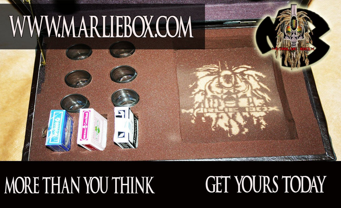 MARLIEBOX GROWN MAN POKER KING EDITION BRIEFCASE