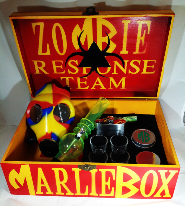 MB ZOMBIE ATTACK DELUXE RESPONSE KIT W/ GAS MASK