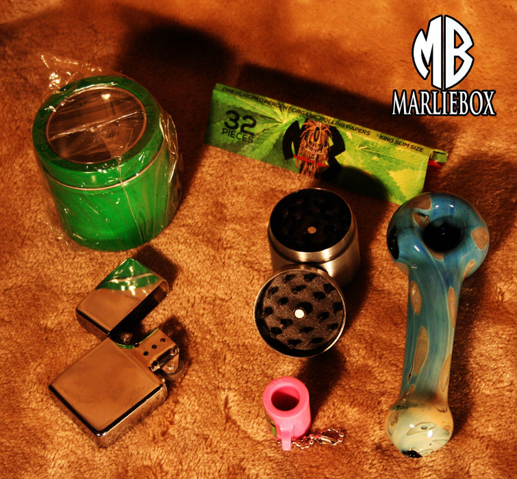 0001A MB SURVIVOR FLAT HERBAL ACCESSORY KIT