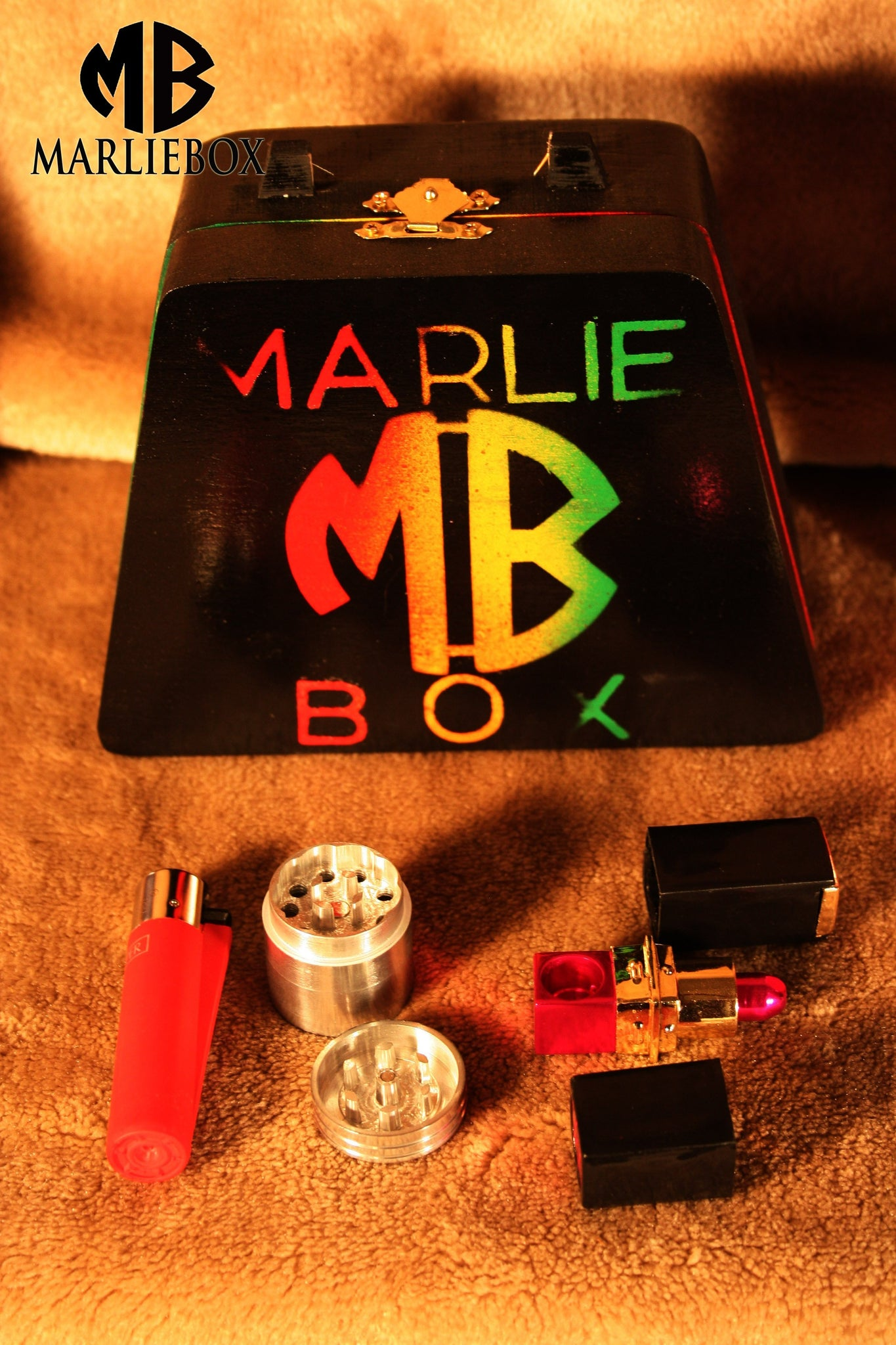 MARLIEBOX UPSCALE HERBAL ACCESSORY KITS 1F MB ELEV8 STYLE PURSE