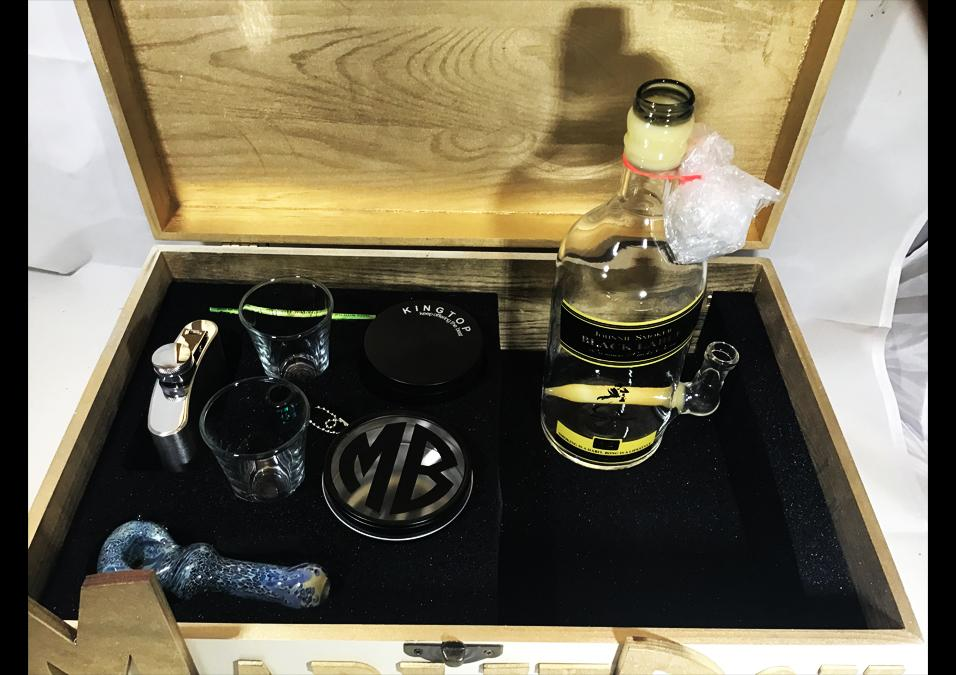 MARLIEBOX UPSCALE HERBAL ACCESSORY KITS MB Johnny Smoker Premier Herbal Accessory Kit