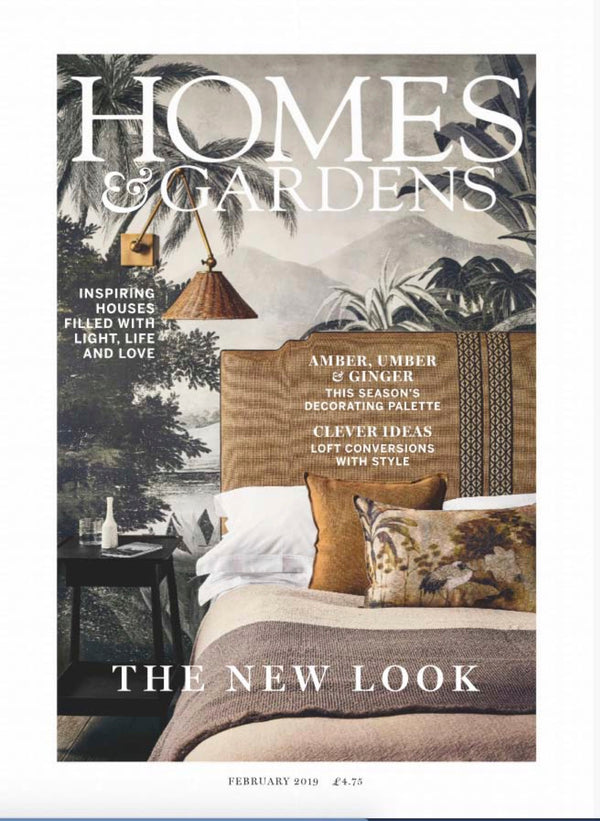 Homes & Gardens UK magazine 2019