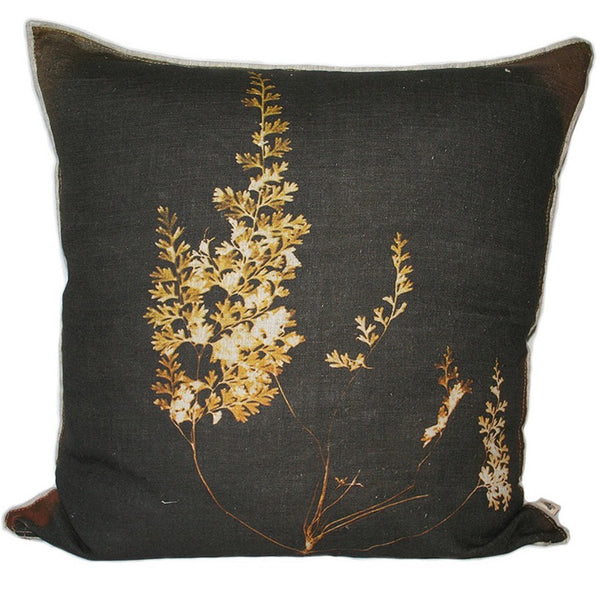 Fern 4 Pitorogramma Cushion, Printed