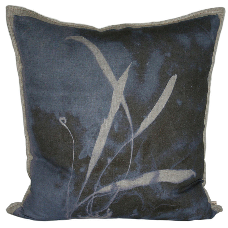 Fern 5 Elaphoglossum Cushion, Printed