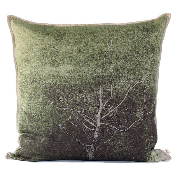Groen Boom Cushion, Printed