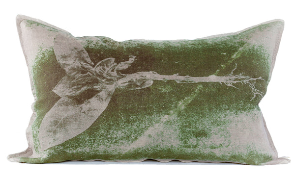 Groen Tak Cushion, Printed