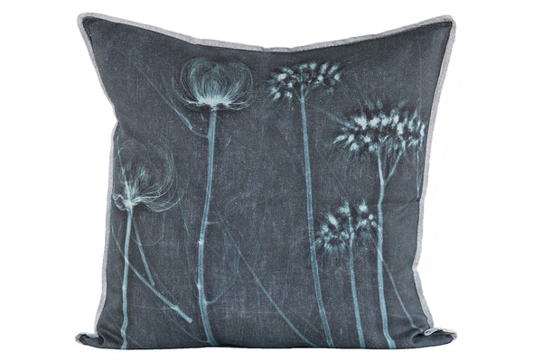 Will's Teal Garden Cushion, Printed