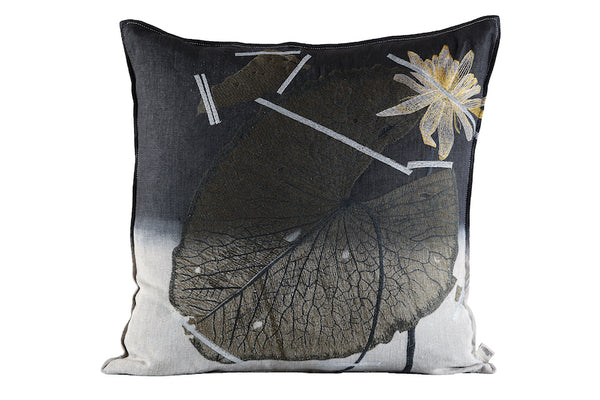 Mopipi Cushion, Embroidered and Dipped