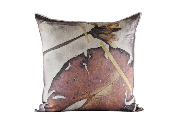 Thamalakane Rust Cushion, Printed