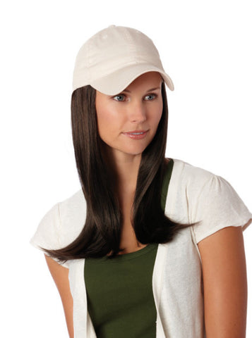 Hat With Hair | Henry Margu Baseball Cap with Hair | Long Length