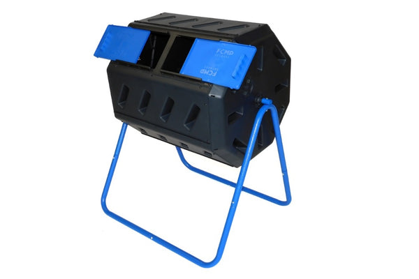 IM4000-DD  Dual Chamber Tumbling Composter with Double Doors