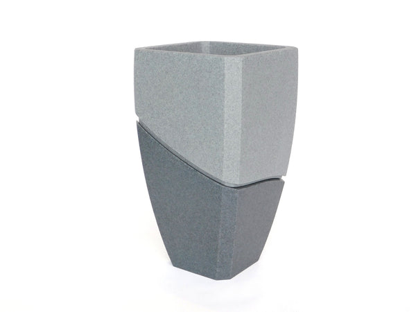 Granite Look Planter