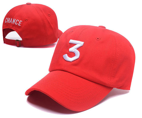 Chance The Rapper #3 Dad Hat Baseball Cap
