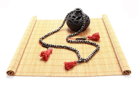 Tibetan Buddhist Yak Bone Prayer Beads