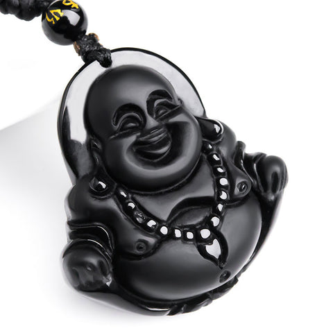 Smiling Buddha Necklace