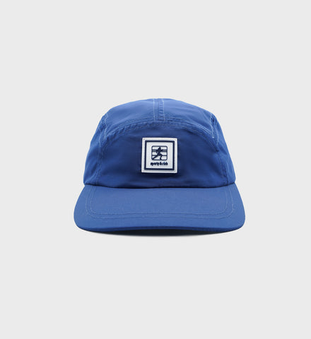 5 Panel Nylon Hat - Navy