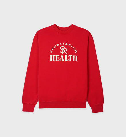 Ball Game Crewneck - Sports Red