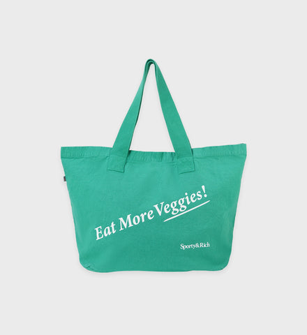 Eat Veggies Tote - Tropical
