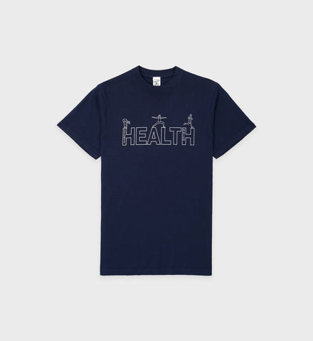 Health T Shirt - Navy