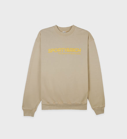 Science Crewneck - Nutmeg