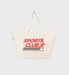 Sports Club Tote Bag - Natural