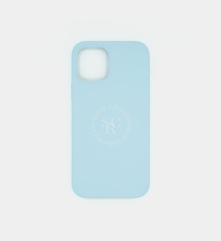 iPhone 12 Pro Case - Powder Blue SRHWC Logo