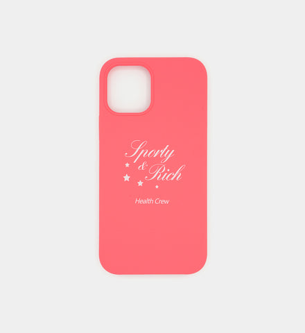 iPhone 12 Pro Case- Pink Stars Logo