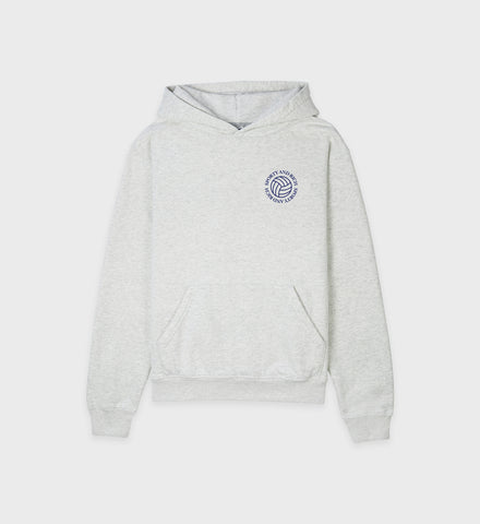Volleyball Hoodie - Heather Gray