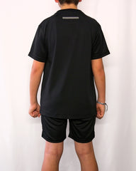 BOYS BLACK T-SHIRT