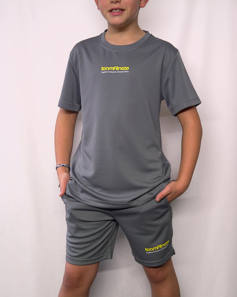 BOYS GREY T-SHIRT