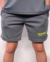 GIRLS GREY SHORTS