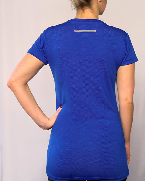 WOMENS BLUE T-SHIRT