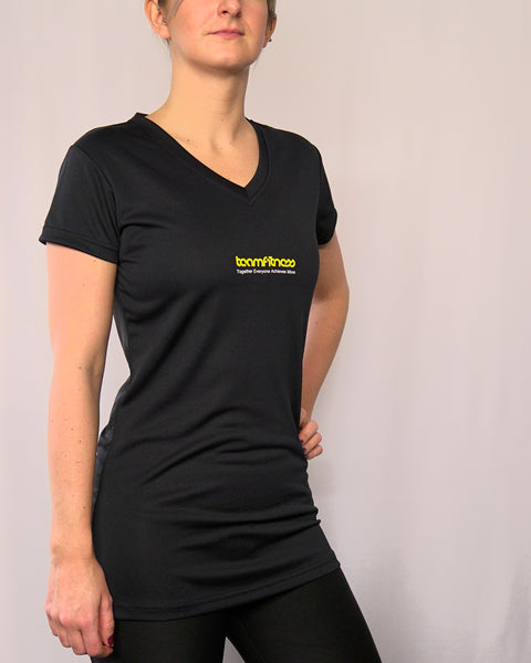 WOMENS BLACK T-SHIRT