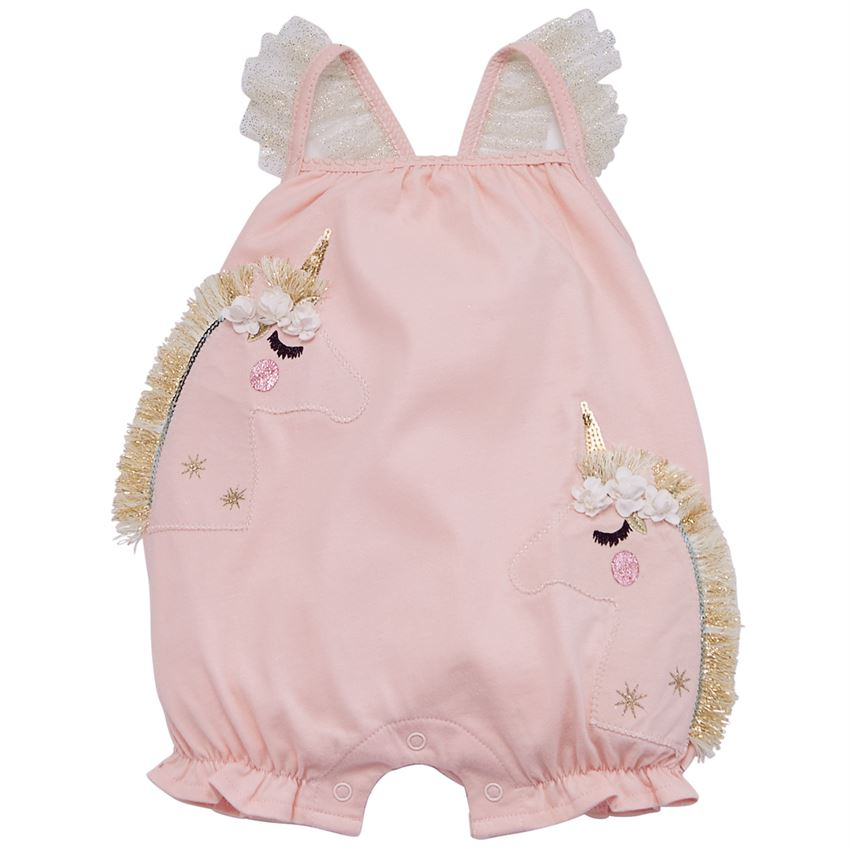 UNICORN FRINGE BUBBLE ROMPER - Southern Style and Stash A Specialty Boutique