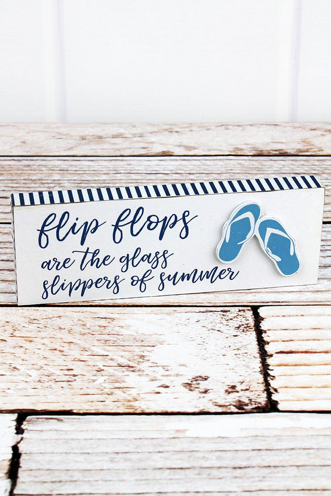 """Glass Slippers Of Summer""  Block - Southern Style and Stash A Specialty Boutique"