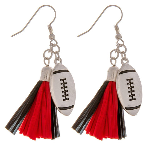 Georgia football earrings - Southern Style and Stash A Specialty Boutique