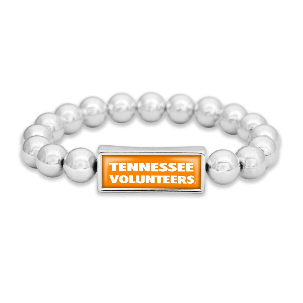 Stretch, Beaded Tennessee Volunteers bracelet