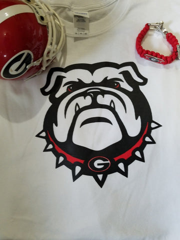 New UGA Georgia Bulldogs LS Tee - Southern Style and Stash A Specialty Boutique