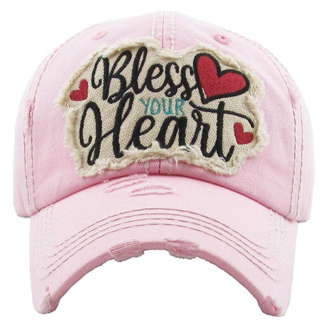 Embroidered, vintage style ball cap with washed-look details. - Southern Style and Stash A Specialty Boutique